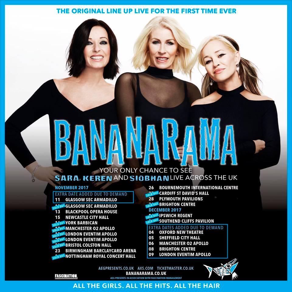 Event Flyer - Bananarama